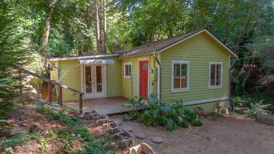 Santa Cruz County Single Family Home For Sale: 10650 E Zayante Rd