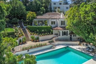 Hillsborough Single Family Home For Sale: 933 Baileyana Rd