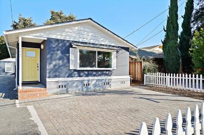 Santa Clara County Single Family Home For Sale: 440 6th Ave