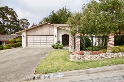 Santa Clara County Single Family Home For Sale: 916 Park Pacifica Ave