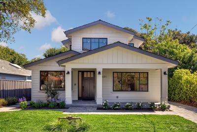 PALO ALTO Single Family Home For Sale: 471 Pepper Ave