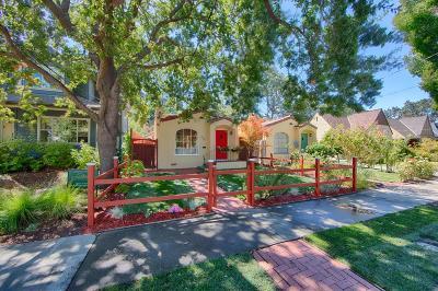 PALO ALTO Single Family Home For Sale: 2136 Bowdoin St
