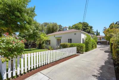 MOUNTAIN VIEW Multi Family Home For Sale: 355 Mariposa Ave