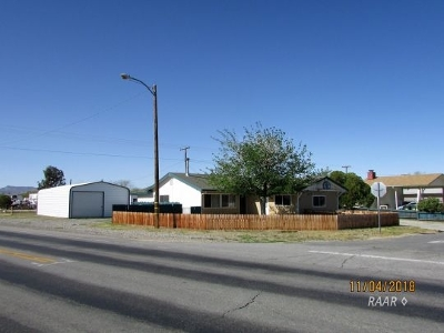 Inyo County, Kern County, Tulare County Single Family Home For Sale: 6449 Valley Ave