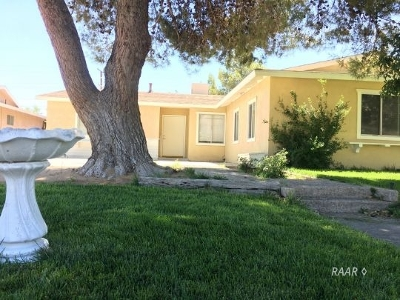 Inyo County, Kern County, Tulare County Single Family Home For Sale: 316 S Gold Canyon St