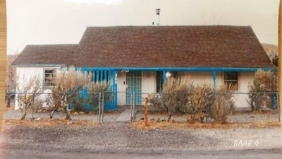 Inyo County, Kern County, Tulare County Single Family Home For Sale: 27701 Johannesburg Ave