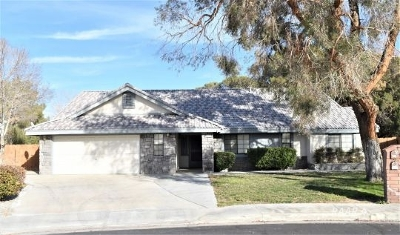 Inyo County, Kern County, Tulare County Single Family Home For Sale: 324 W Pilgrim Cir