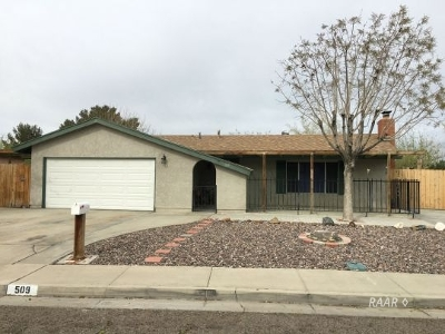 Inyo County, Kern County, Tulare County Single Family Home For Sale: 509 S Helena St