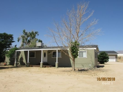 Inyo County, Kern County, Tulare County Single Family Home For Sale: 1149 N Calvert Blvd