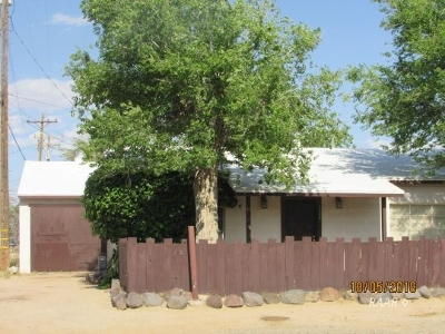 Inyokern Single Family Home For Sale: 1232 N Broadway St