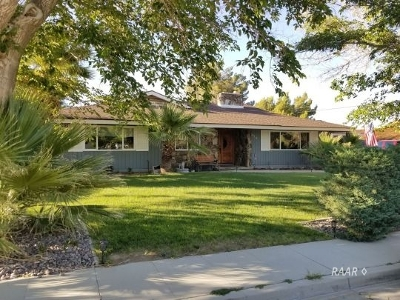 Inyo County, Kern County, Tulare County Single Family Home For Sale: 254 Mesquite