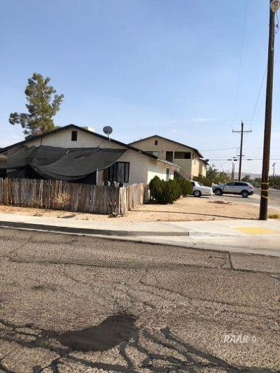 Inyo County, Kern County, Tulare County Multi Family Home For Sale: 243 W Robertson Rd