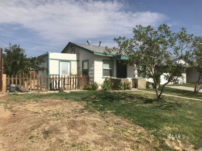 Inyo County, Kern County, Tulare County Single Family Home For Sale: 1405 S Farragut St