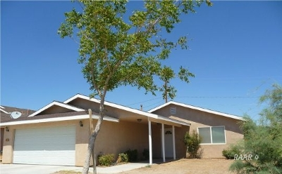 Inyo County, Kern County, Tulare County Single Family Home For Sale: 1404 W Mariposa Ave