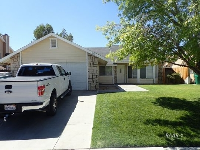 Inyo County, Kern County, Tulare County Single Family Home For Sale: 505 E Wilson Ave