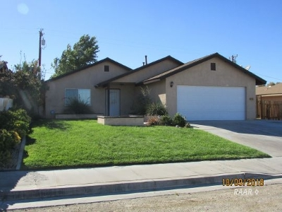 Inyo County, Kern County, Tulare County Single Family Home For Sale: 1409 S Mayo St