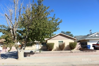 Inyo County, Kern County, Tulare County Single Family Home For Sale: 356 S Desert Candles St