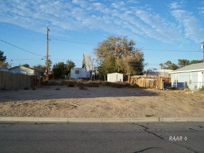 Inyo County, Kern County, Tulare County Residential Lots & Land For Sale: 081-323-34 St George Ave
