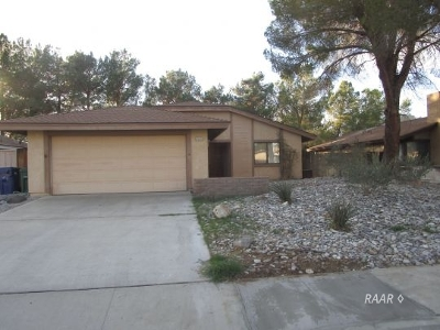 Inyo County, Kern County, Tulare County Single Family Home For Sale: 1123 N Mono Ct