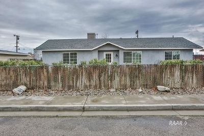 Inyo County, Kern County, Tulare County Multi Family Home For Sale: 209 W French Ave.