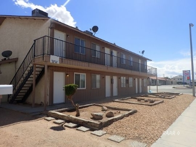 Inyo County, Kern County, Tulare County Multi Family Home For Sale: 501 E Ridgecrest