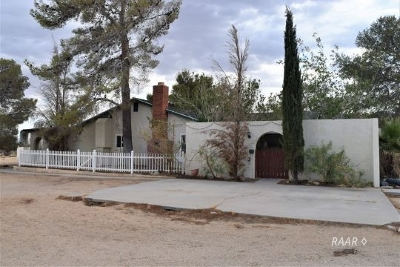 Inyokern Single Family Home For Sale: 8287 Panorama Trail Ave