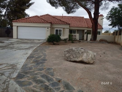 Inyo County, Kern County, Tulare County Single Family Home For Sale: 1240 Quail Way