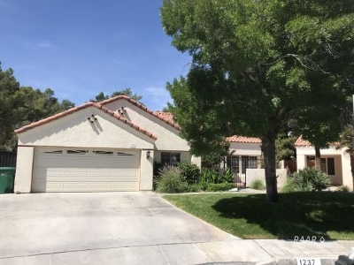 Inyo County, Kern County, Tulare County Single Family Home For Sale: 1237 Quail Way