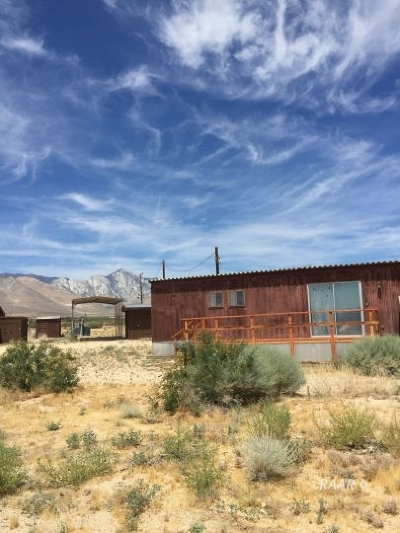 Inyo County, Kern County, Tulare County Mobile/Manufactured For Sale: 5905 N Brown Rd