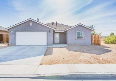 Inyo County, Kern County, Tulare County Single Family Home For Sale: 1229 S Farragut St