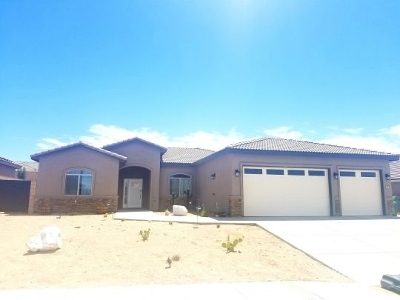 Ridgecrest Single Family Home For Sale: 117 Rainshadow Ct