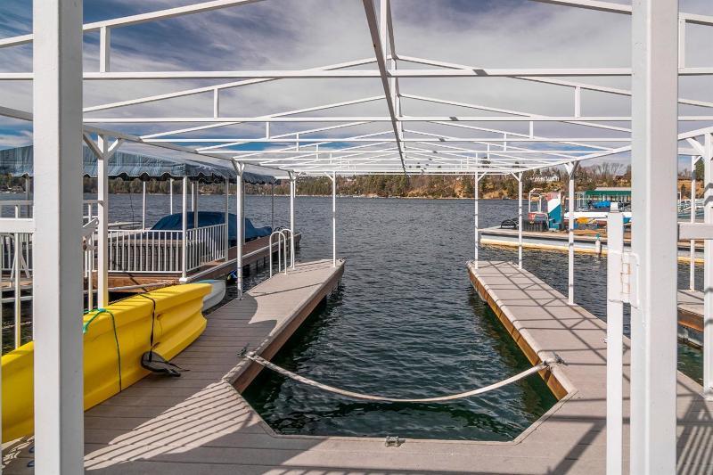 Dock S-390, Lake Arrowhead, CA 92352 - Listing #:2192090 on lake house dock signs, lake house dock ideas, cabin dock designs,