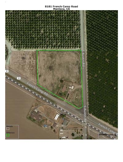 Manteca Commercial Lots & Land For Sale: 8181 French Camp Road