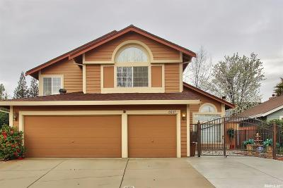 Antelope Single Family Home Sold: 8607 Peach Blossom Way