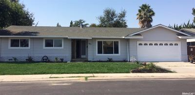 Manteca Single Family Home Sold: 1701 Maywood Avenue