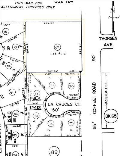 Modesto Commercial Lots & Land For Sale: Coffee Road