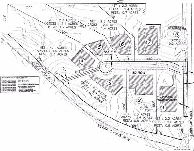 Loomis Residential Lots & Land For Sale: Sierra College Blvd & Bankhead