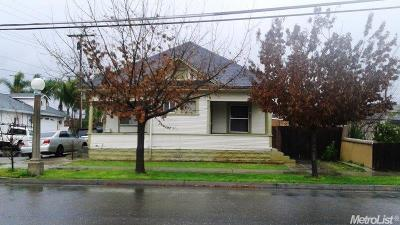 Lodi Multi Family Home For Sale: 111 South Stockton Street