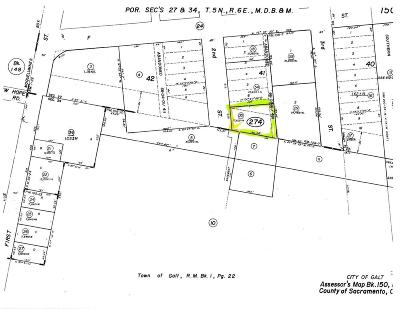 Galt Residential Lots & Land For Sale: 625 2nd Street