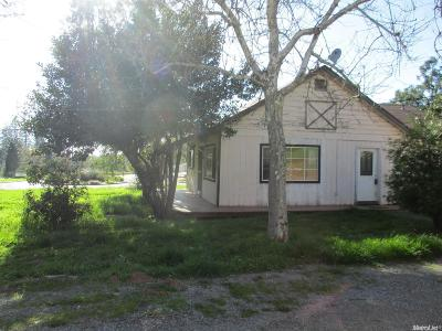 Placerville Single Family Home For Sale: 3199 Pleasant Valley Road
