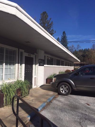 Placerville CA Commercial For Sale: $1