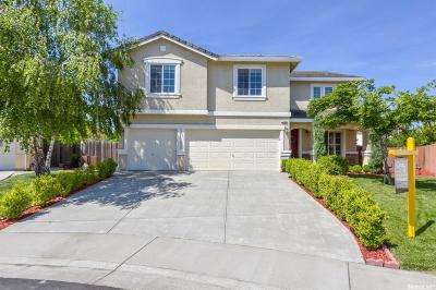 West Sacramento Single Family Home Sold: 1525 Peppertree Court
