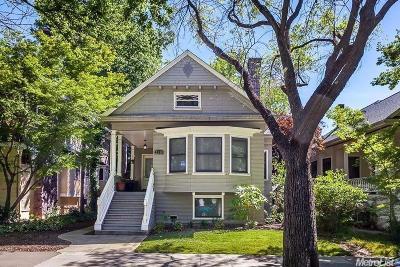 Sacramento County Multi Family Home For Sale: 2714 Q Street