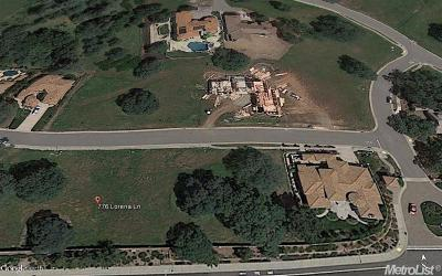 Folsom Residential Lots & Land For Sale: 776 Lorena Lane