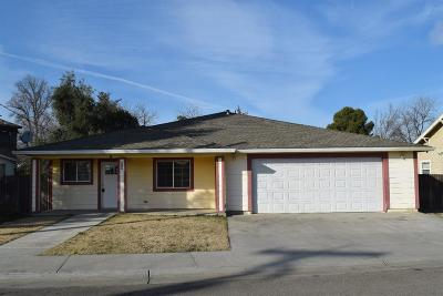 Arbuckle Single Family Home For Sale: 808 Hall