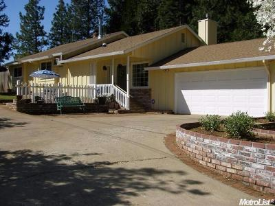 Pollock Pines Single Family Home For Sale: 5534 Pony Express Trail