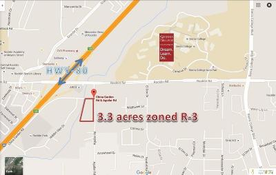 Rocklin CA Residential Lots & Land For Sale: $1,050,000
