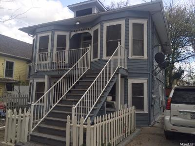 Sacramento County Multi Family Home For Sale: 2123 3rd Street