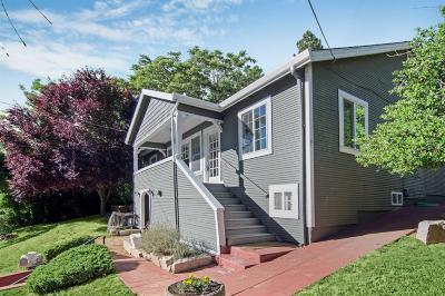 Grass Valley Single Family Home For Sale: 143 Bennett Street