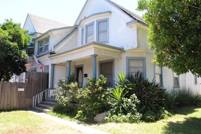 Lodi Multi Family Home For Sale: 110 West Vine Street